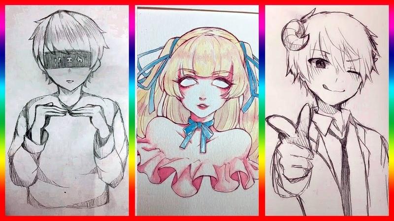 【ティックトック イラスト】ック絵 - Tik Tok Paint Anime 12