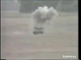 Шведська протитанкова ракета RBS 56 BILL розплавляє танк Centurion