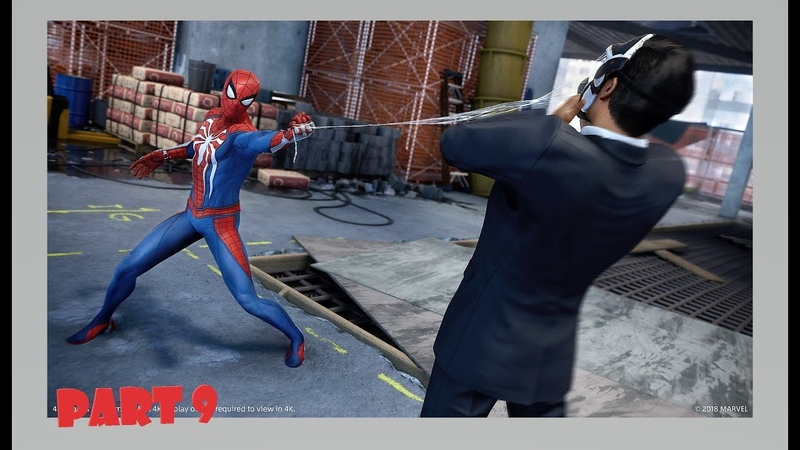 Marvel's Spider-Man Official Only PS4 Walkthrough Part 9 1080p