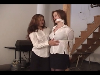 Cleave gagged woman