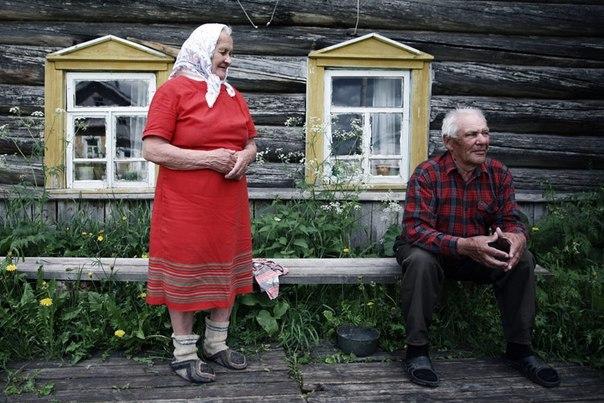 Фото со старухами