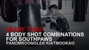 Muay Thai: 4 Body Shot Combinations For Southpaws | Evolve University