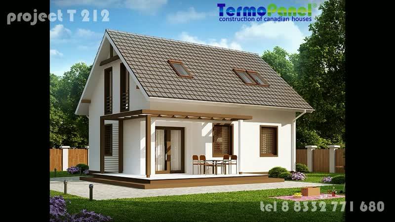 Проект дома Т-212