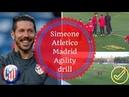 Atletico Madrid agility training
