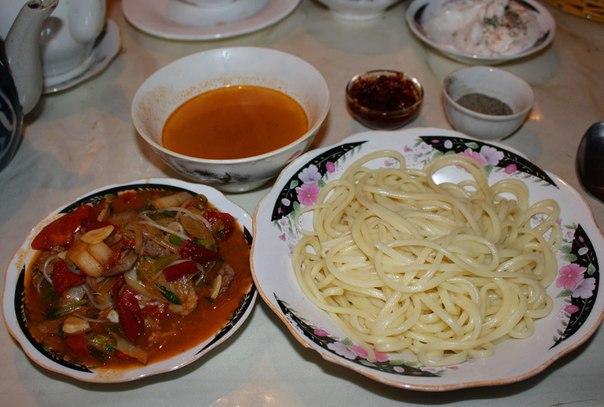 Рецепт с фото лагман казахский