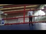 29.04.18 г. Николаенко Сергей(Надвоицы) - Тюленев Леонид(Сегежа) 2004-2005 г. р. Вес 52 кг. финал.