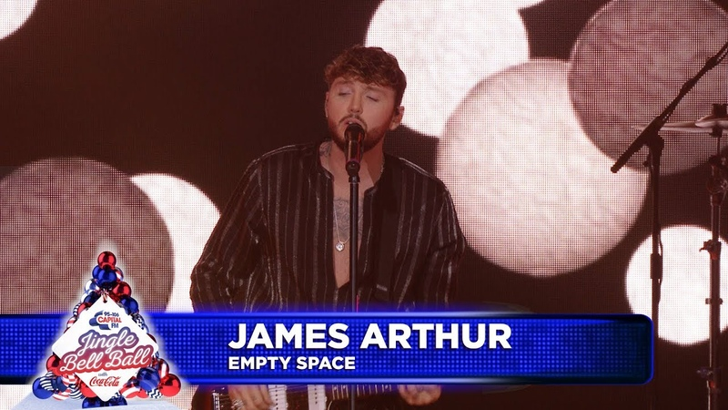 James Arthur 'Empty Space' Live at Capital's Jingle Bell Ball 2018