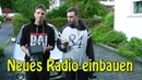 Doppel Din Radio einbauen