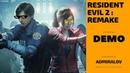 ПРОХОЖДЕНИЕ ■ Resident Evil 2: Remake √ [1-Shot Demo] - УМЕР В КОНЦЕ ИГРЫ! ШОК!