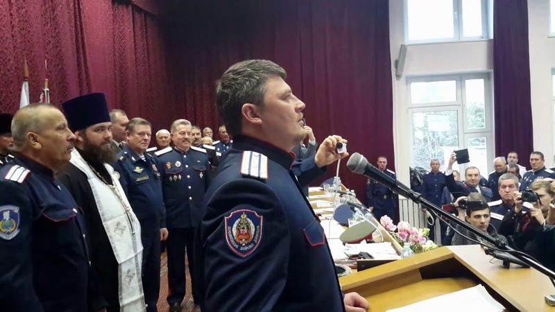 Избран новый Верховный атаман Союза Казаков-Воинов России и Зарубежья