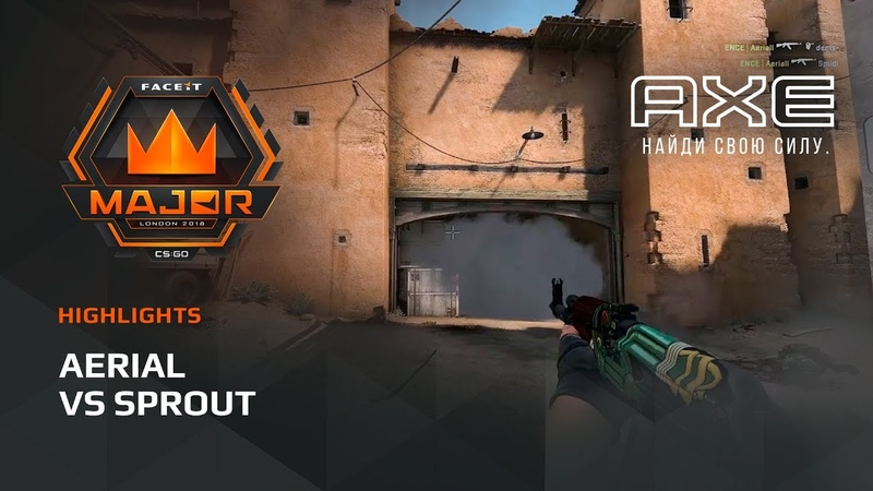 Aerial vs Sprout, Europe Minor – FACEIT Major 2018