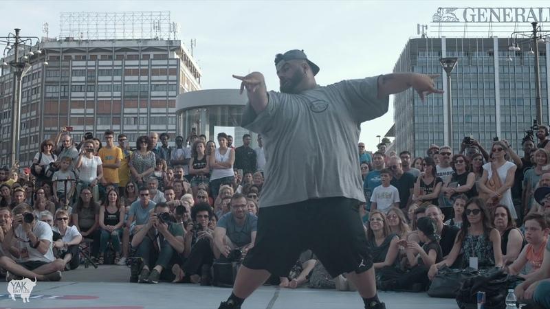 TONINI vs. RUBEN Top 8   Red Bull Dance Your Style MILANO   YAK BATTLES