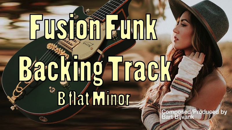 Fusion Funk Backing Track B flat Minor