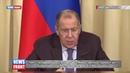 Лавров назвал проект резолюции по милитаризации Азовского моря пустышкой