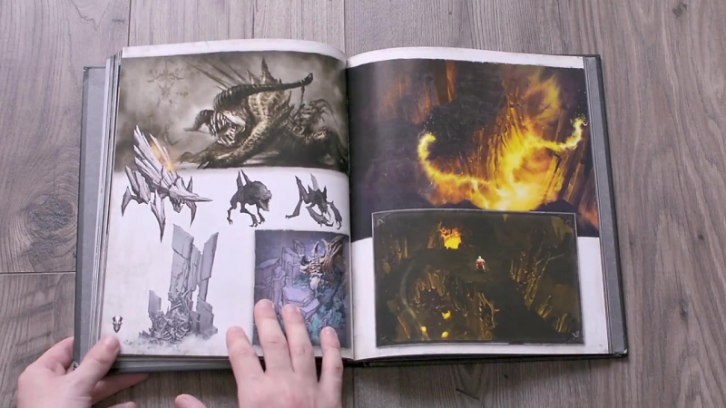 Artbook - The Art of Diablo III- Reaper of Souls - preview page by page