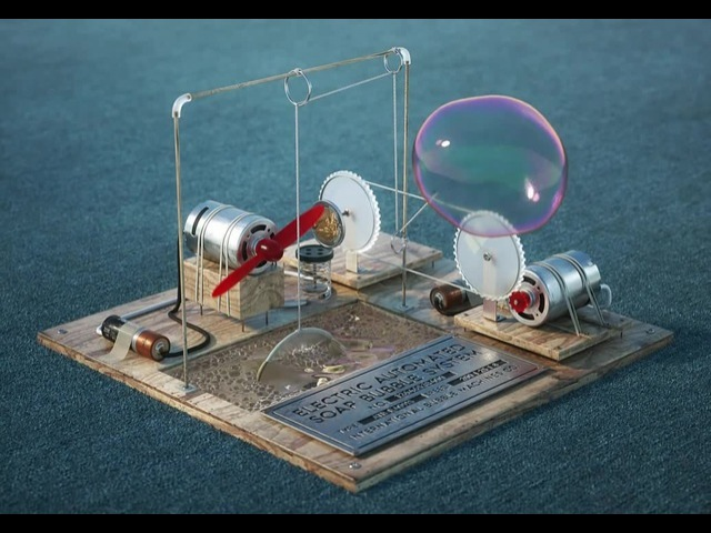 Bubble machine animation
