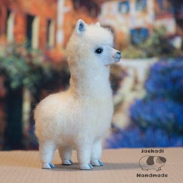 Игрушка из шерсти Альпака (1 фото) - картинка