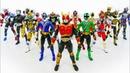 Power Rangers Samurai Vs Kamen Rider~! Episodes 1-3 Neo-Saban Superheroes PowerRangersToys