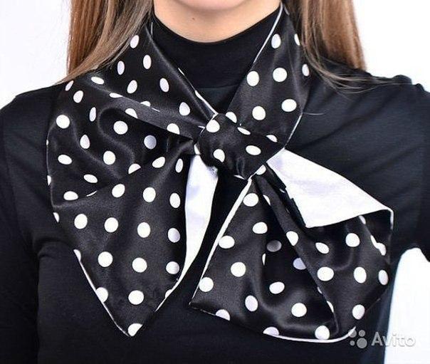 Сшить шарф платок своими руками