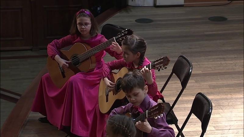 Alexander Vinitsky Dance of the forest gnomes Guitar quartet