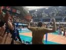 Эмоции болельщиков волейбольной команды Кузбасс2