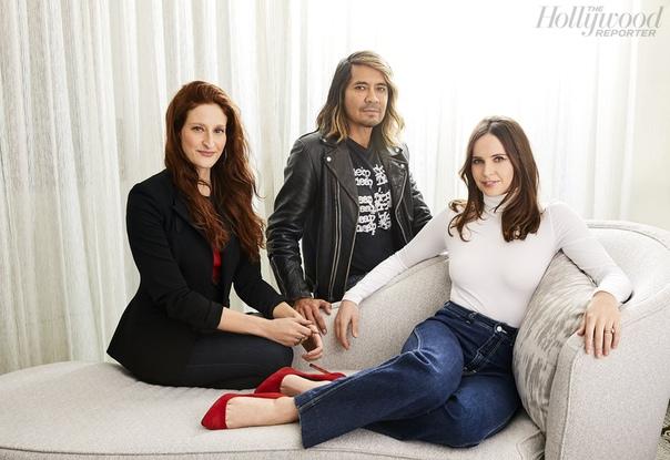 Актрисы и их стилисты The Hollywood Reporter, Ноябрь 2018