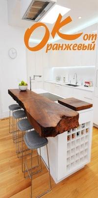 Кухни от оранжевого кота