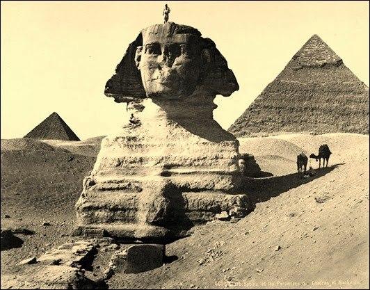 Какие загадки скрывает египетский Сфинкс
