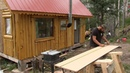 Alaska Cabin Project . Kitchen Cabinets, Counter Top, Sink