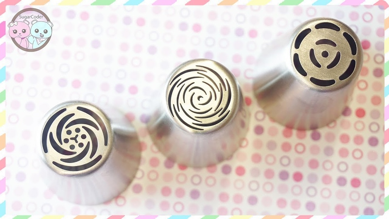 RUSSIAN PIPING TIPS, NEW RUSSIAN PIPING TIPS (PART 5/6)