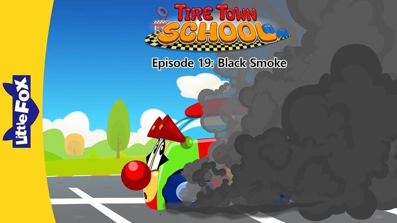 Tire Town School 19: Black Smoke | Level 1 | By Little Fox