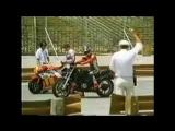 Фредди Спенсер (Honda NSR500 ) vs Nissan 300ZX turbo vsHonda CB750 Япония