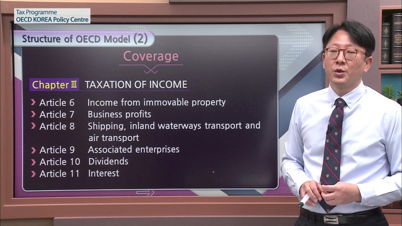 [OECD Tax] Model Tax Convention Lecture 2 Jae hyung Jang
