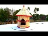 How to make a match house matchstick house fire easy matchstick hut making matchstick art.