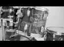 Rhythm Magazine exclusive first look at Premier's new Spirit Of Maiden Nicko McBrain kit