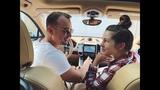 Нюша с мужем в машине (InstaStories, 03.12.18)