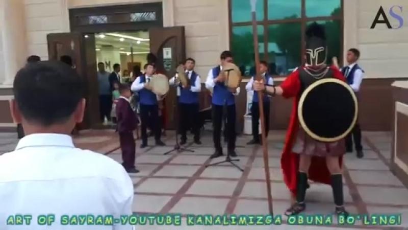 Farhod Mansurov va O'zbegim doirachilar guruhi ! 13-05-2018