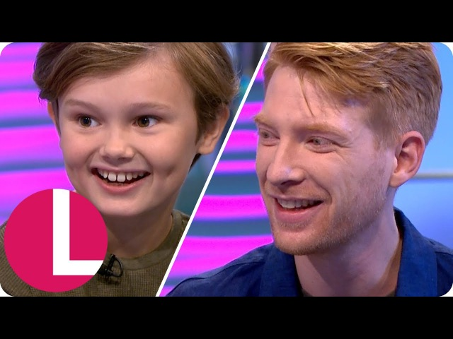 Domhnall Gleeson and Will Tilston on Winnie the Pooh's Painful Origins