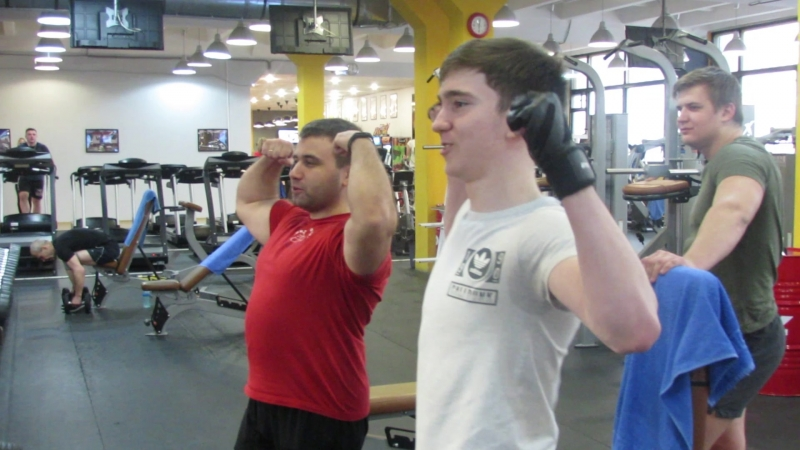 Пауэрлифтинг для юношей с 14 до 18 лет. Инструктор - Рустам Багитов