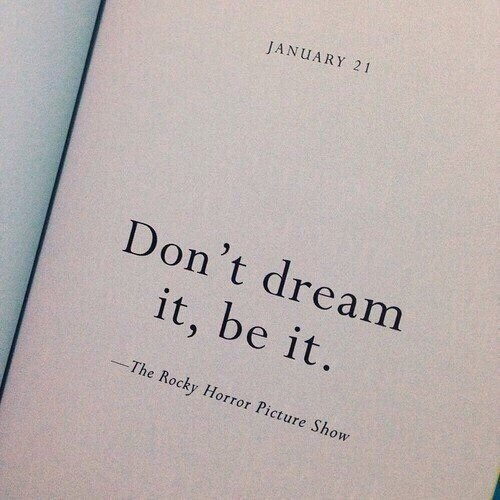 Не мечтай,