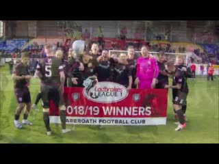 Check out the scenes after arbroathfc confirmed their league 1 title win at glebe park