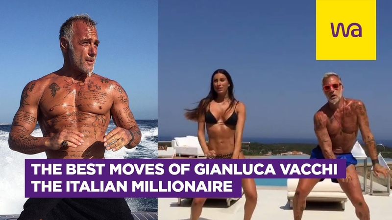 The best moves of Gianluca Vacchi the italian millionaire