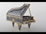 Большая музыкальная шкатулка для ювелирных украшений