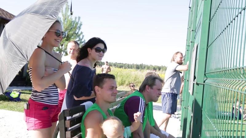 Закрытие чемпионата по футболу на кубок компании «Красивая Земля»
