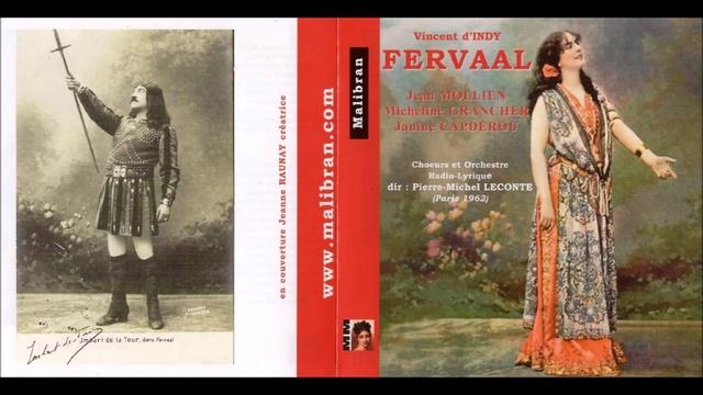 Vincent d Indy - Fervaal début Acte I (1962)