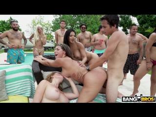 Krissy Lynn Rose Monroe Valentina Jewels Nickiee [ Sex Porno Suck Fuck Pool Party вечеринка у бассейна секс порно gangbang ]