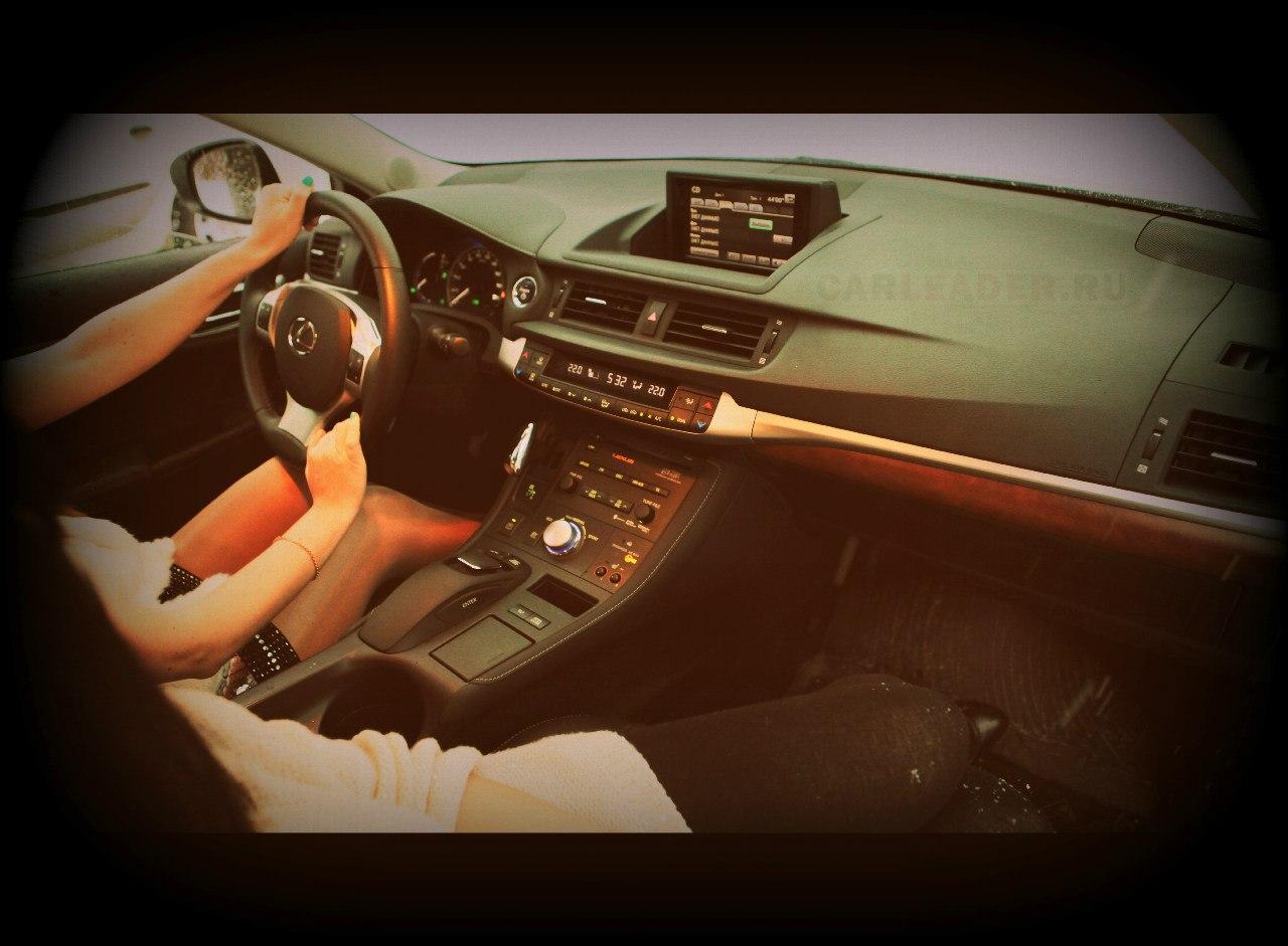 Торпеда Lexus CT