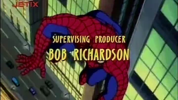 Человек-паук 1 сезон 3 серия ( Охотники за пауком ).