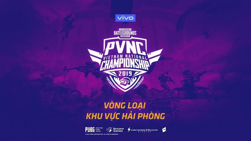 🔴TRỰC TIẾP PVNC 2019   VÒNG LOẠI PUBG MOBILE VIETNAM NATIONAL CHAMPIONSHIP 2019   KHU VỰC HẢI PHÒNG