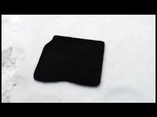 Автоковрик EVA Зима и испытание льдом.mp4